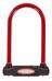 Masterlock 8195 pyöränlukko 13 mm x 210 mm x 110 mm , punainen/musta